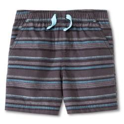 Circo Toddler Boys Strip Fashion Short - Charcoal - Size: 5T