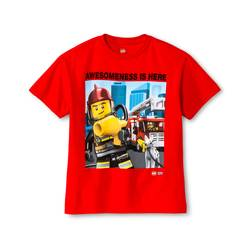 IML Boys Lego Awesomeness Graphic Tee - Red - Size: XXL