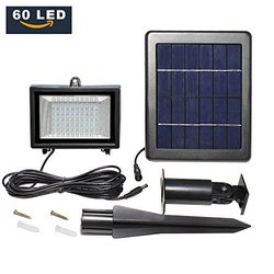 LTE Waterproof 60 LED Outdoor Security Solar Lights
