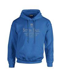 NCAA Seton Hall Pirates Classic Seal Long Sleeve Hoodie, Large, Royal