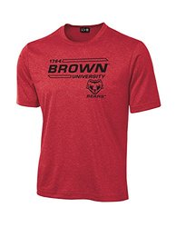 NCAA Brown Bears University Tech Performance T-Shirt, XX-Large, Red