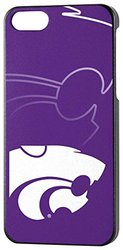 NCAA Kansas State iPhone 5/5s Phone Case, One Size, One Color