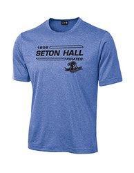 NCAA Seton Hall Pirates University Tech Performance T-Shirt, XX-Large, Royal