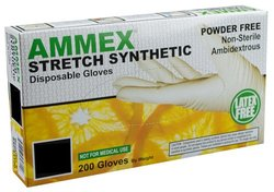 Ammex SSP Stretch Synthetic Poly Glove Case of 1000