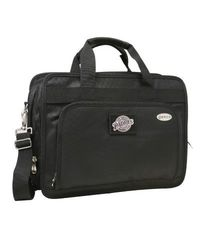 "Denco Men's MLB San Diego 15"" Laptop Briefcase - Black"