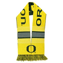 Oregon Ducks Reversible Split Logo Scarf - Green