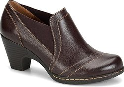Eurosoft Tami Mahogany Leather Shoes: 10