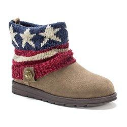 Women's Patti Boots: Dark Red/size 8