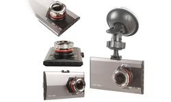 "Techy Guru 2"" HD Car DVR with G-Sensor & Night Vision"