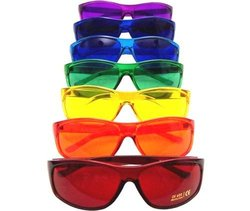 BioWaves Pro Style Color Therapy Glasses Set - Assorted