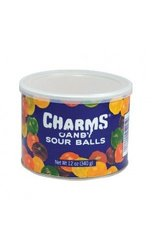 Charms 12 oz. Assorted Sour Balls Hard Candy