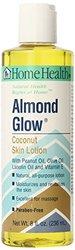 Home Health Almond Glow Body Lotion Massage Oil Coconut 8 fl oz