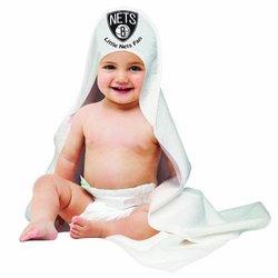 NBA Brooklyn Nets Hooded Baby Towels