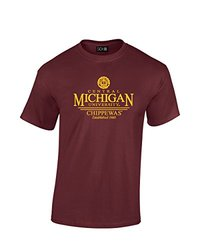 NCAA Central Michigan Chippewas Classic Seal T-Shirt, XX-Large, Maroon
