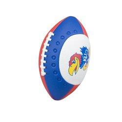 Franklin Sports NCAA Kansas Jayhawks Collegiate Mini Soft Foam Air Tech Football