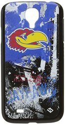 NCAA Kansas Jayhawks Paulson Designs Spirit Case for Samsung Galaxy S4, Black, Medium