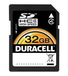 Duracell - DU-SD-4096-R 4 GB Class 4 Secure Digital Card