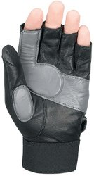 Markwort Stash Youth/Ladies Black Left Hand Z3 Fielder?s Protective Glove (Small)