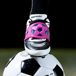 The SOCKIT Light Up Youth Soccer Kicking Trainer Aid Striker Pink