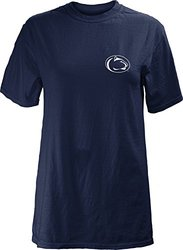 NCAA Penn State Nittany Lions Junior's Comfort Colors Short Sleeve T-Shirt, X-Large, Navy