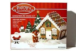 Clever Cookie Rudolph Nosed Reindeer Gingerbread House Kit - Red