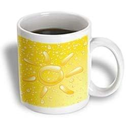 3dRose 11-Ounce capacity Drop of Sunshine Mug