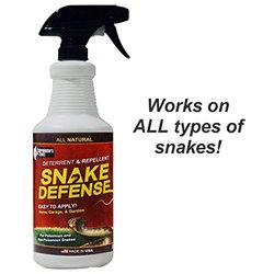 Snake Defense All Natural Effective Snake Repellent Spray - 32oz