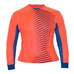 Vizari Women's Aura GK Jersey, Crimson/Blue, Youth X-Large