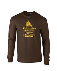 NCAA Unisex Valparaiso Crusaders Vintage Long Sleeve T-Shirt - Brown - XL