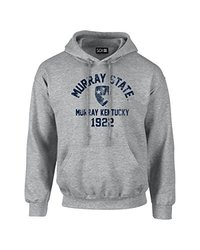 NCAA Murray State Racers Mascot Block Arch Hoodie - Sport Grey - Med