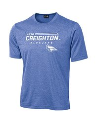 NCAA Creighton Bluejays University Tech Performance T-Shirt, XX-Large, Royal