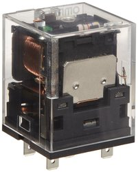 Omron General Purpose Power Relay with Built-In Operation Indicators