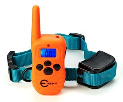 Esky Rainproof Rechargeable LCD Shock Control Pet Dog Training Collar