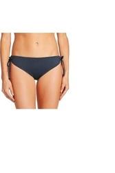 Women's Keyhole String Hipster Bikini Bottom - Slate Grey - Size: XS