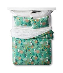 Lolli Living Duvet Set with Seahorses - Reef Green - Size: Twin