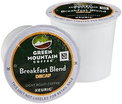 Green Mountain Breakfast Blend Decaffeinated Coffee K-Cups - 100 Count