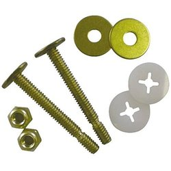 "Proplus 191108 Toilet Bolts Brass Johnni Bolt Set - 5/16"" x 2-1/4"""