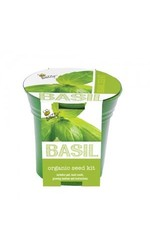 Buzzy Fresh and Natural Sweet Basil Organic Seed Grow Kit