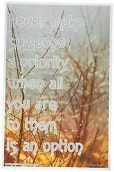 Youth Change Workshops Inspirational Self-Help Relationship Poster with Angelou Quote (Poster #506)