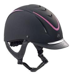 OV Z-6 Glitz Helmet - Black/Pink - Size: M/LG