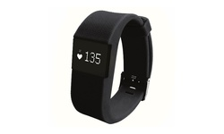 ID100 Bluetooth Fitness Tracker with Heart Rate Monitor - Black
