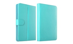 "Insten Leather Universal Stand Folio Case for 7"" Tablets - Baby Blue"