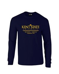 SDI NCAA Kent State Golden Flashes Long Sleeve Tee - Navy - Size: S