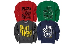 Mens Pullover Fleece Sweatshirt: 99 Problems Snitch Aint One/large