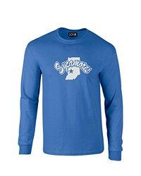 SDI Unisex NCAA Indiana State Sycamores Mascot T Shirt - Royal - Size: XXL