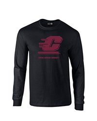 SDI NCAA Central Michigan Chippewas Men's T-Shirt - Black - Size: XXL