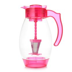 Cook's Companion 4-in-1 Chill Filter & Infuse 3qt Tritan Pitcher - Magenta