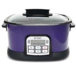 Cook's Companion 6.5 qt Ceramic Nonstick 11-in-1 Digital Cooker - Plum