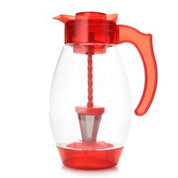 CC 4-in-1 Chill/ Brew/ Filter & Infuse 3qt Tritan Pitcher- Red