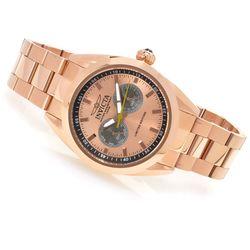 Men's 14705 45mm Poseidon Quartz Stainless Steel Watch - Rosetone